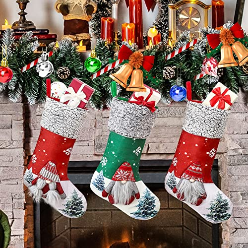 Christmas Stockings 3Pack, 18