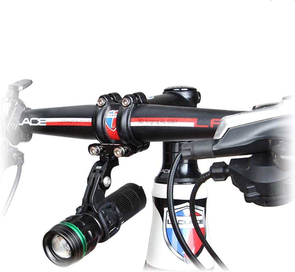 Bicycle Light Torch Holder Flashlight Bracket Bike Accessory For Go pro Mount TP