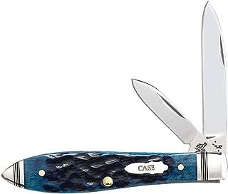 product image for CASE XX WR Pocket Knife 46663 Ocean Blue Jig Bone Teardrop