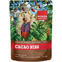 Power Superfoods Organic Cacao Nibs, 125g