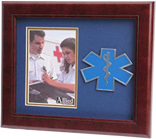 product image for flag connections US Air Force Wings Medallion Portrait Picture Frame - 4 x 6 Picture Opening