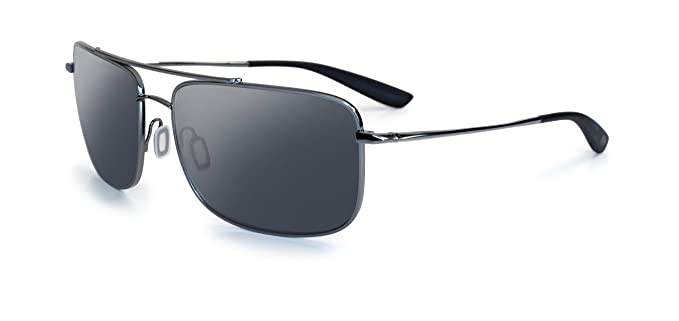 Kaenon Mens Ballister Polarized Sunglasses Gun Metal