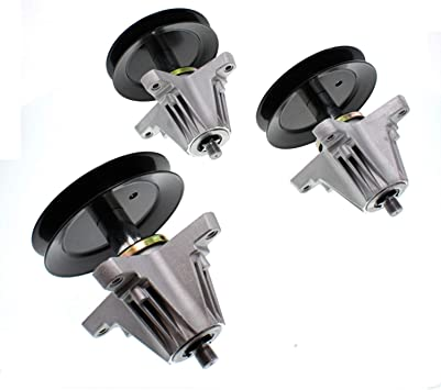 """3 Pack Spindle Assembly for MTD Cub Cadet 54/"""" Deck 618-06978 918-06978"""