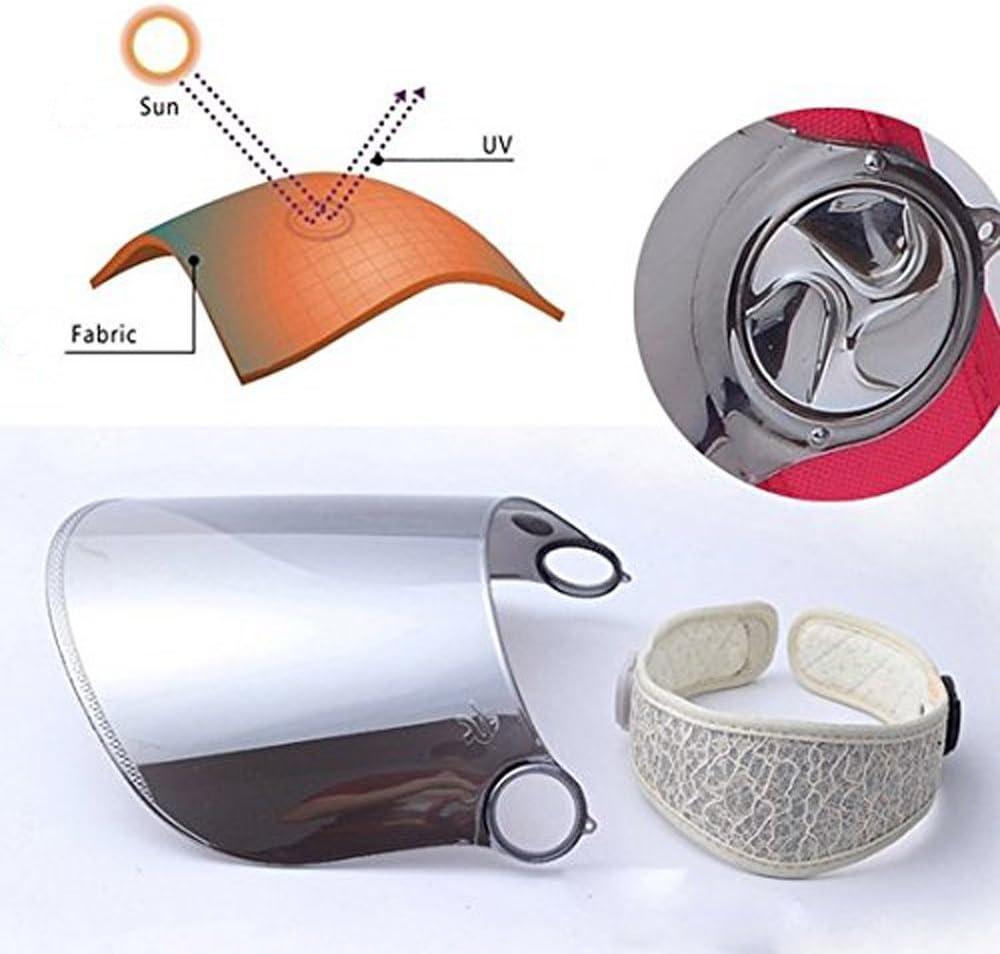 Golf Headband Solar Face Shield Hat for Hiking Sun Visor Hat Tennis WAYCOM Sun Cap Outdoors UV Protection Hat