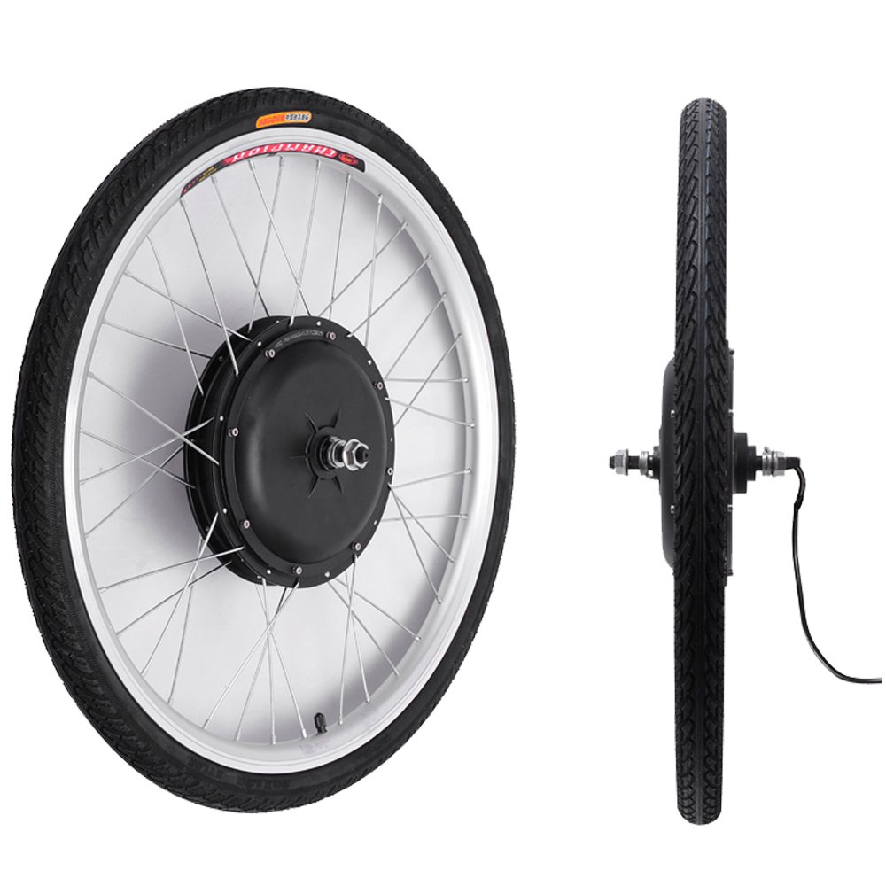 48V/1000W 26'' Front Wheel Bicycle Power-driven Refit Kit by YIXian (Image #4)