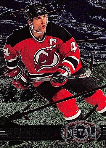 5f1216a3 Scott Stevens hockey card (New Jersey Devils) 1997 Skybox Metal #88 ...