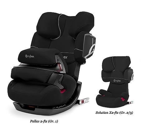 Cybex blanco para silla de coche para ni/ños Pallas 2-Fix S-Fix /& Solution S-Fix Funda de verano