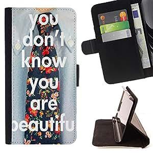 King Case - FOR Samsung Galaxy S4 Mini i9190 - Love is like an hourglass - Prima caja de la PU billetera de cuero con ranuras para tarjetas, efectivo Compartimiento desmontable y correa para la mu?eca
