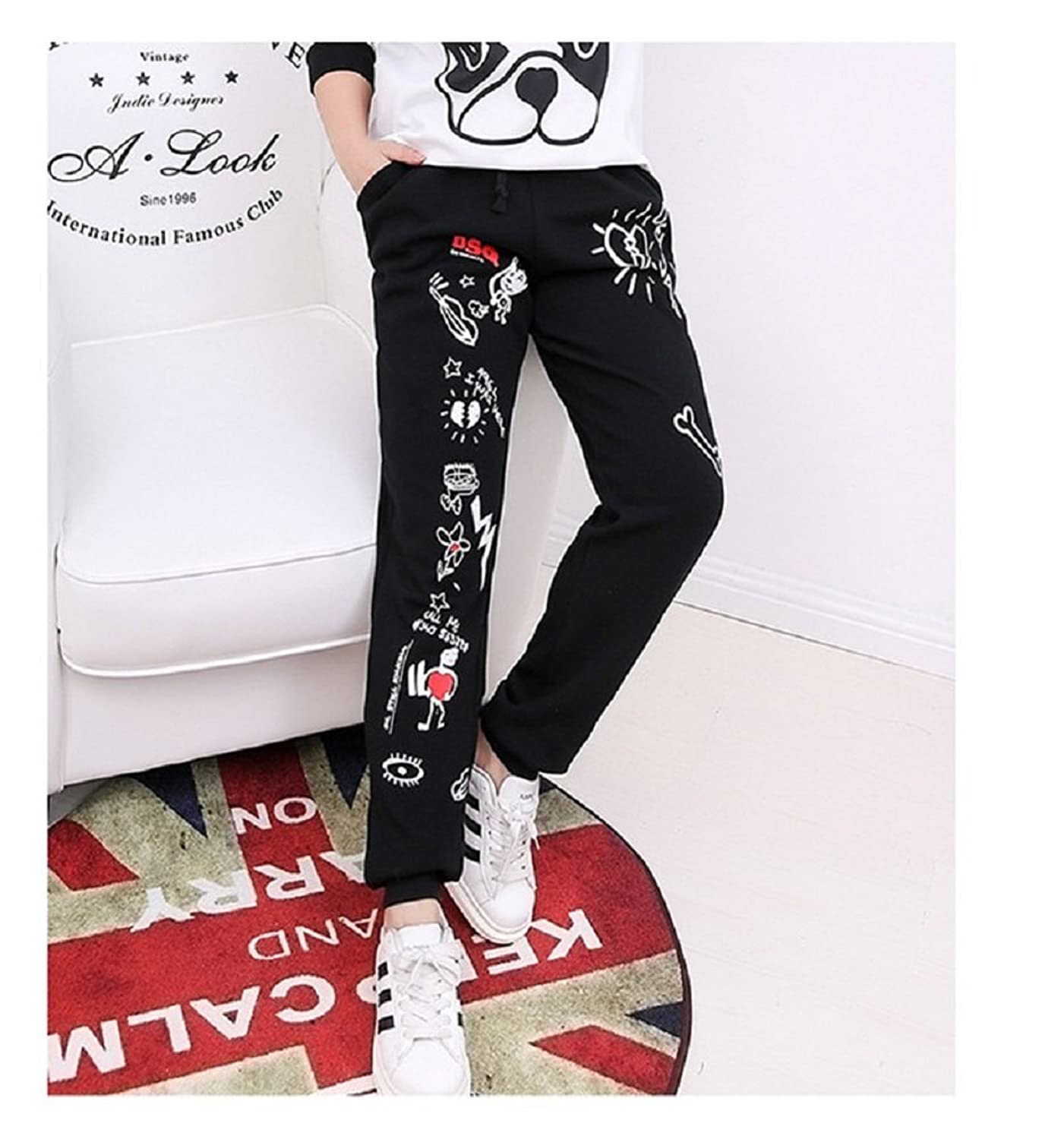 Hanxue Plus Size Womens Sweatpants