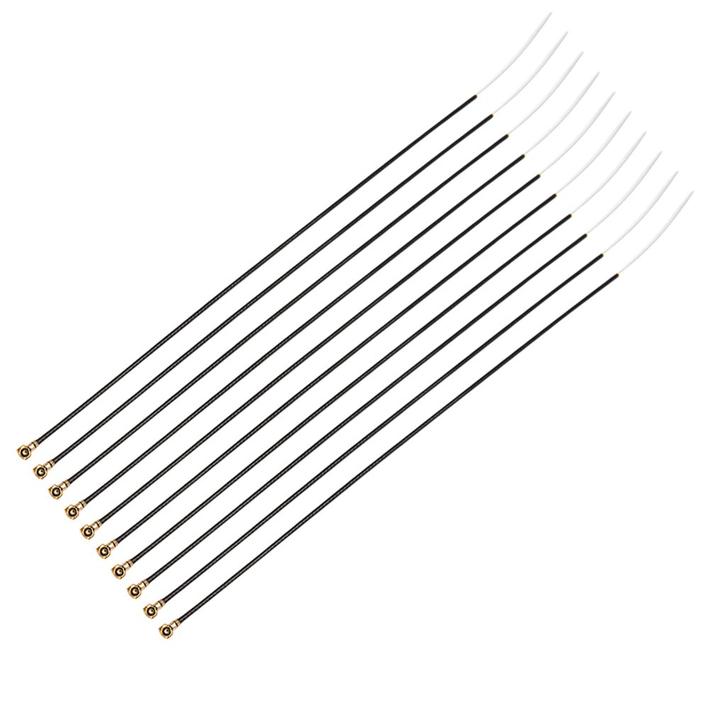 Nidici 10pcs 2.4g Ipex4 Antena De Linea De Alimentacion Para Frsky X4r / X4rsb / S6r / D Series / Tf Series Receiver