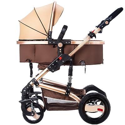 Anna Système de voyage pour poussette bébé Baby Trolley Light Umbrella Car Four-Wheel Collision Folding Can Mentir les chariots pour enfants Poussette réglable pour poussette