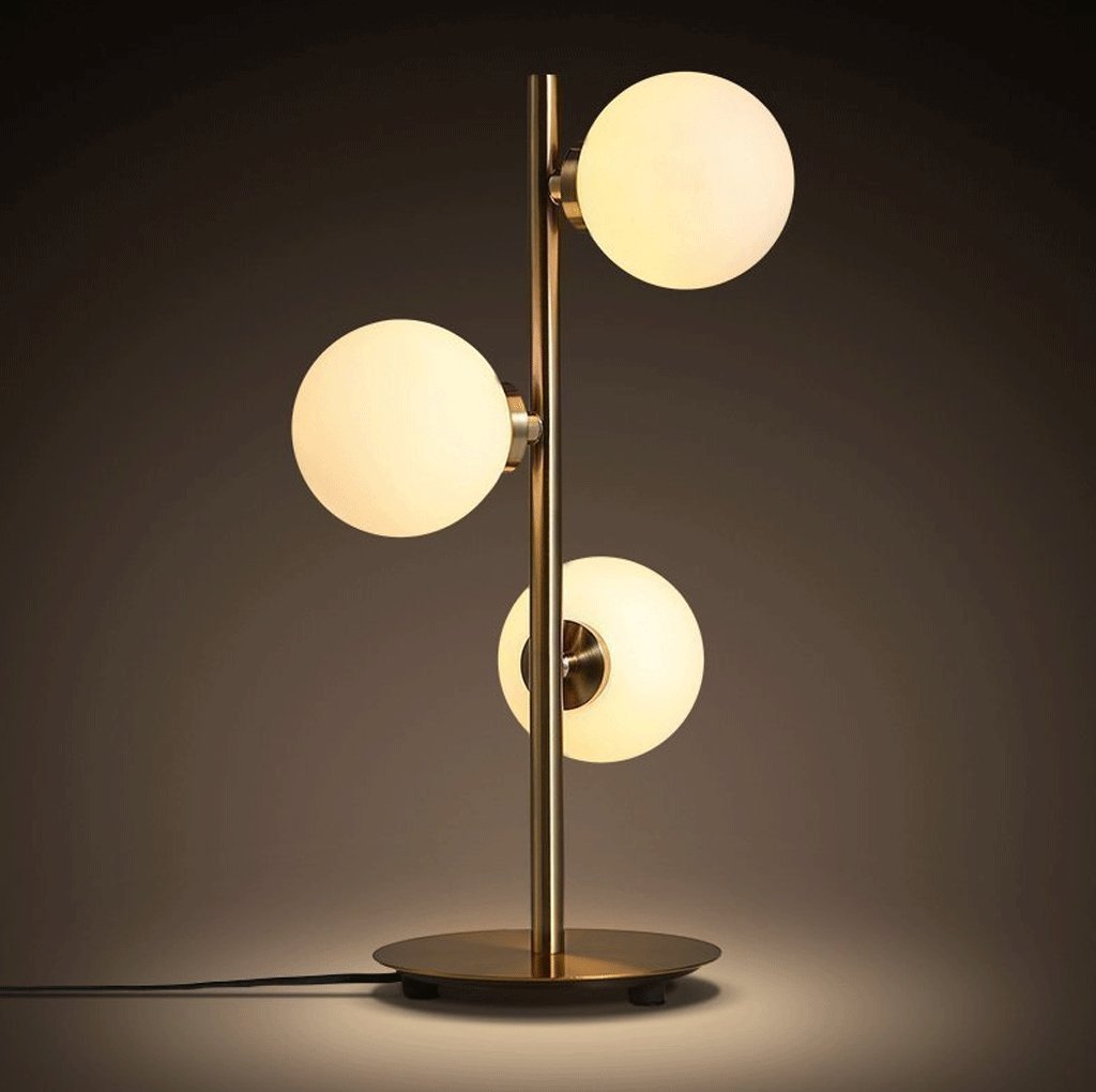DGF Ball Table Lamp- Creative Home Living Room Bedroom Study Light (H420mm)