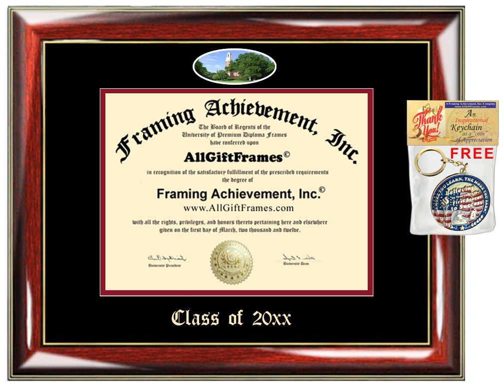 Amazon.de: allgiftframes Custom Diplom Rahmen geprägt Miami ...