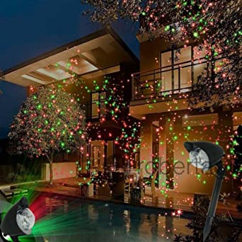 Proyector orientable Faro RGB iluminación jardín LED Navidad Estaca Foco: Amazon.es: Iluminación