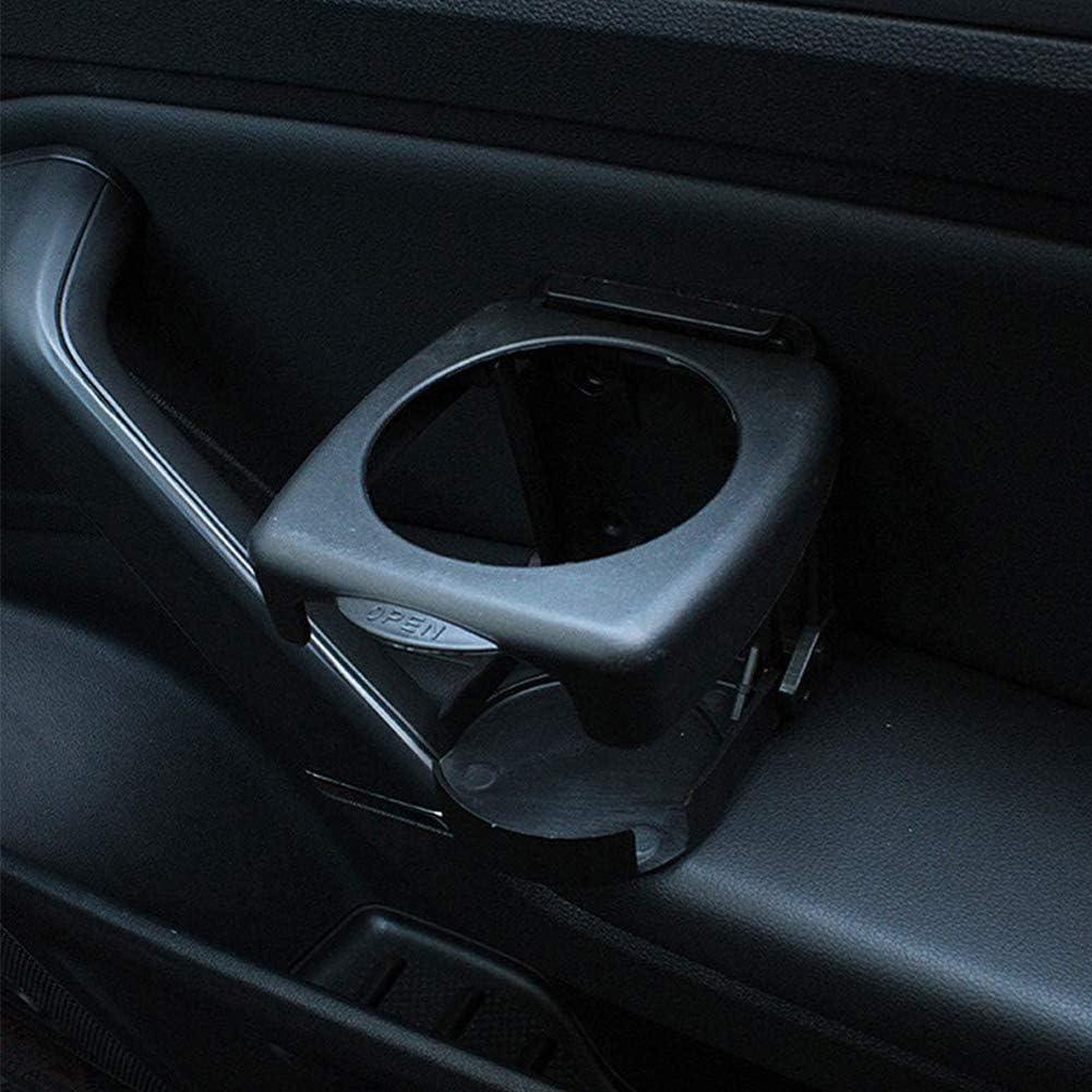 Universal Einstellbare Klappbecher Getr/änkehalter f/ür Auto LKW Boot nach Hause(schwarz) BESLIME 2 St/ück Auto Getr/änkehalter