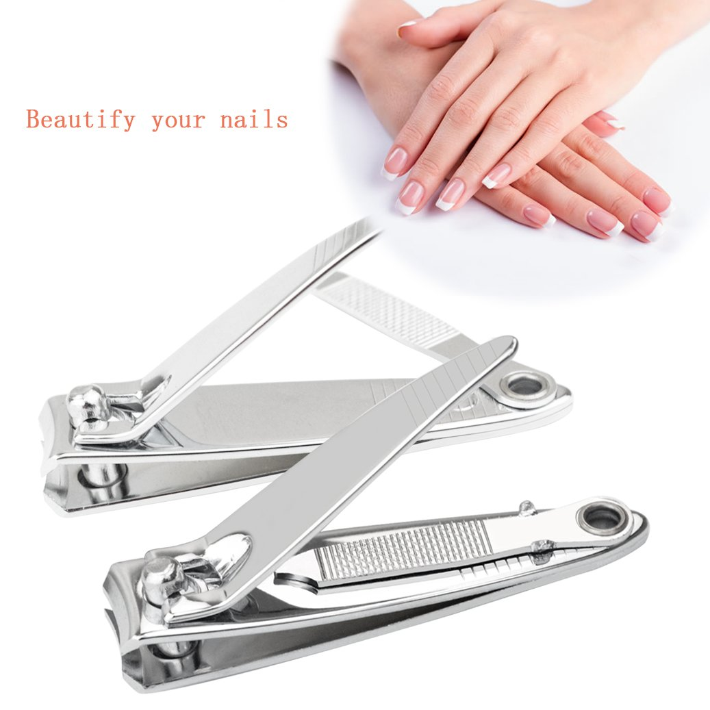 galleon miayon 2 pcs sharp metal fingernail nail