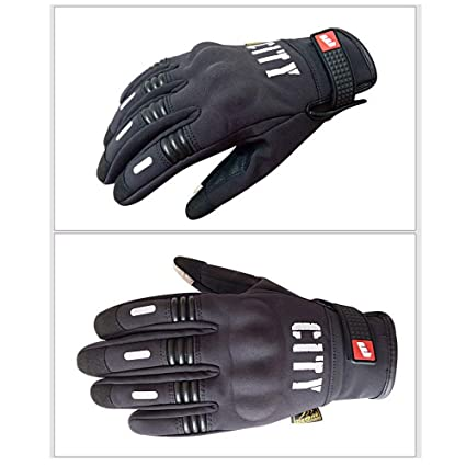 082b68898c8 Defary Motorcycle Gloves Screen Touch Cycling Bike Men Summer Guantes Glove  Full Finger (Black