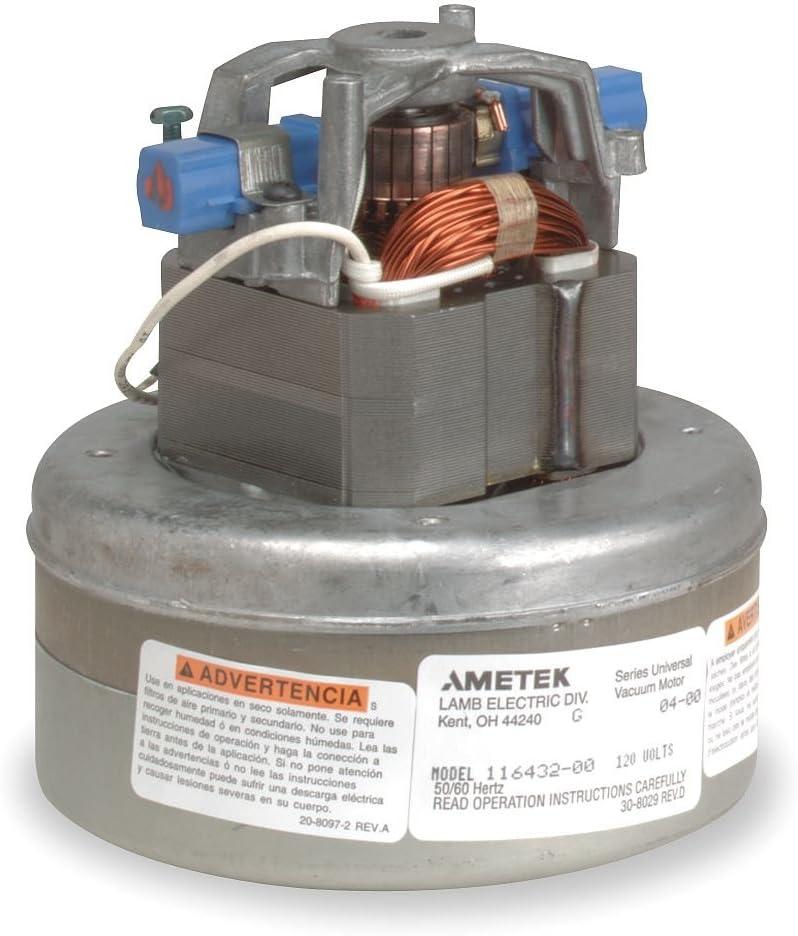 Ametek Lamb 115923 Thru Flow 120V Vacuum Blower Motor Brand New