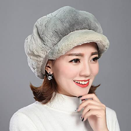 89bee3ff9c36e Scarves XIAOXIAO Hat Autumn And Winter Berets Fashionable Women s Hats  Anise Cap England Fashion Cap Caps 4 Colors Many ways (Color   Light gray)   ...
