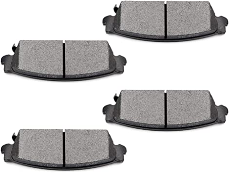 Front+Rear Ceramic Brake Pads For SILVERADO TAHOE YUKON ESCALADE SIERRA
