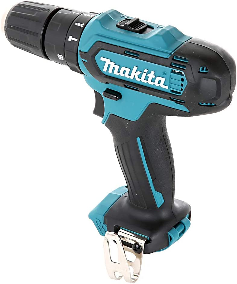 Makita HP331 10.8V-12V CXT Combi Drill with Free Pocket Tape Measures 5M//16ft