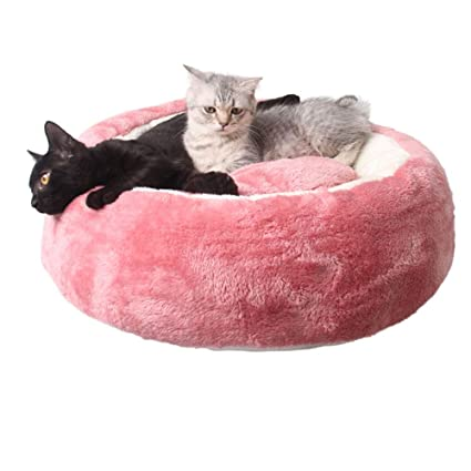 Lingqiqi Cama para Mascotas Cojín de Perro de Gato de Cama Caliente para autoservicio Desmontable (