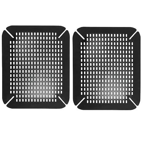 Amazon.com: mDesign - Alfombrilla de secado para fregadero ...
