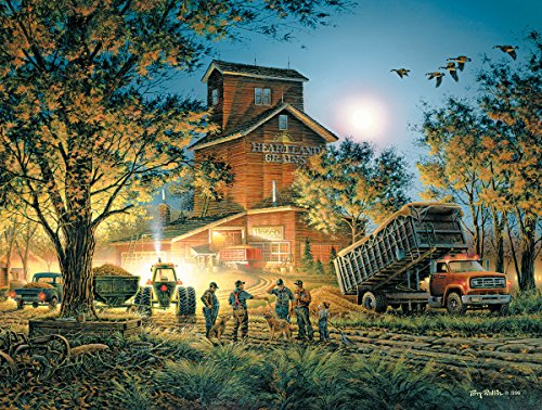 White Mountain Puzzles Bountiful Harvest-550 Piece Jigsaw Puzzle