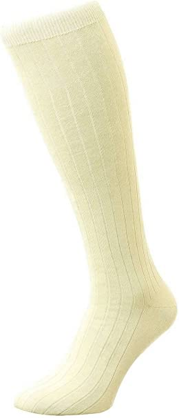 535400 Pantherella Pembrey Sea Island Cotton Crew Sock