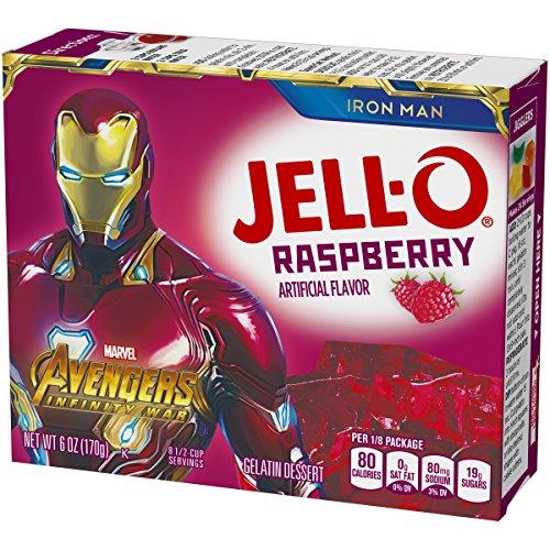 Jell-O Raspberry Gelatin Dessert Mix, 6 oz Box by Jell-O (Image #5)