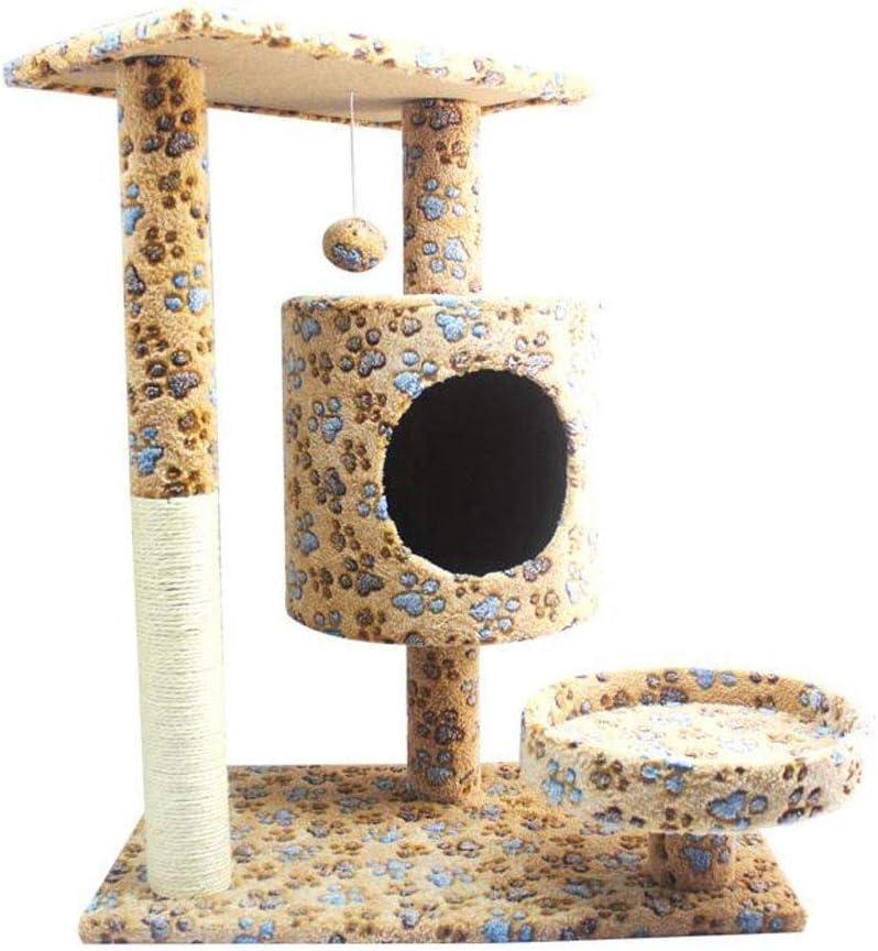 LC_Kwn 子猫のペットハウスの演劇のための猫の木タワーのコンドの家具の傷のポスト
