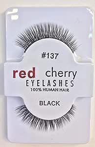 red cherry eyelashes 137