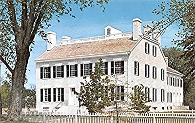 Centre Family Dwelling House Pleasant Hill Kentucky KY USA Shaker Postcard