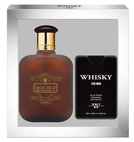 Evaflorparis Ml 100 Eau Toilette Double Coffret De Cadeau Whisky CBedox