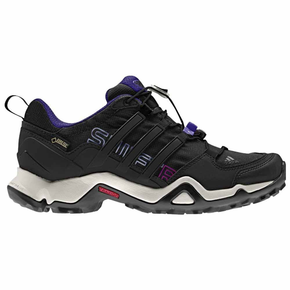 ae4282ff3d Adidas Terrex Swift R Gtx W Black /Blue Women's Hiking Shoes - 9 B(M) US