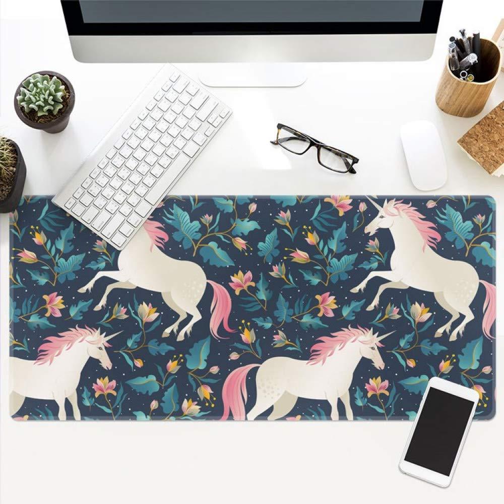 Tzsysb Animal picture Alfombrilla de a ratón extra grande a de prueba de agua cosido mouse pad teclado mouse pad juego oficina antideslizante mantel,90cm×40cm×0.3cm 27ce18