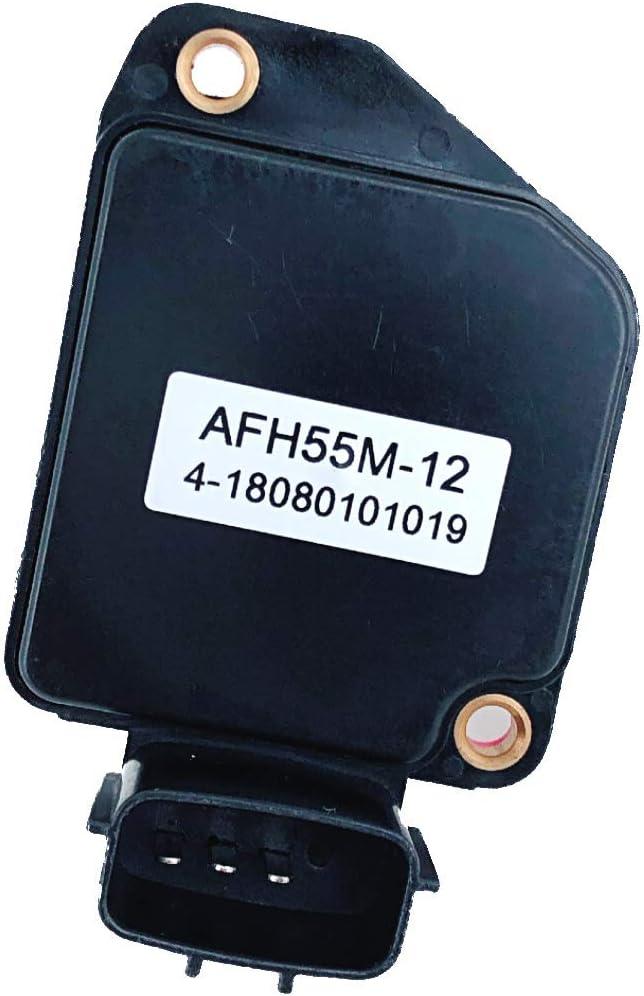 WELL AUTO 96-97 Frontier Xterra Mass Air Flow Sensor Meter MAF 2.4L 4CYL #16017-1S710 AFH55M-12