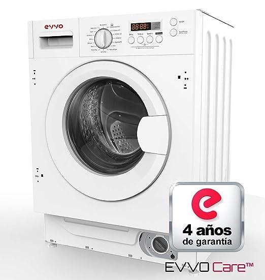 Lavadora integrable EVVO i8w Marca Española. 8KG /1400RPM/A+++ ...