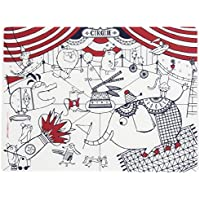 Modern-twist Kids Mark-Mat Coloring Silicone Placemat