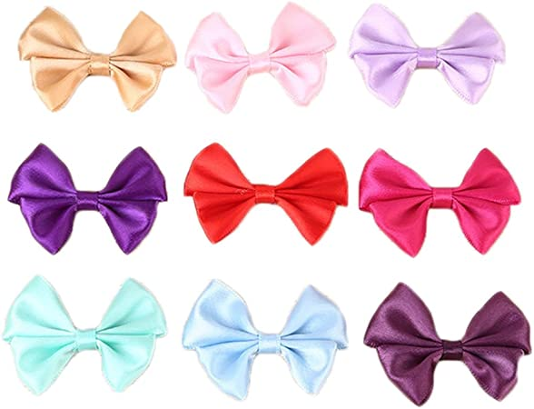 Double Sided Satin Assorted Colours and Quantities Satin Ribbon Bows