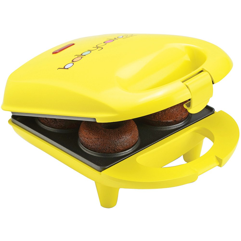 Babycakes Mini Donut Maker w/Instructions & Recipes Booklet - 4 At A Time by Select Brands