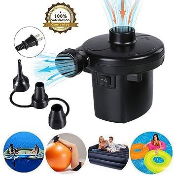 Amazon.com: Bomba de aire eléctrica para flotadores ...