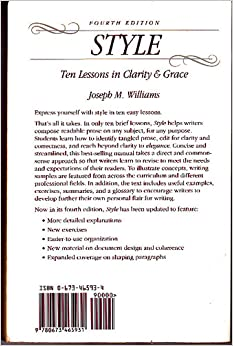 style the basics of clarity and grace 4th edition pdf