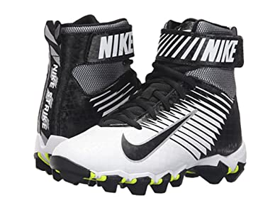 Nike Strike Shark Football Cleat (7, Black/ Metallic Silver-anthracite)
