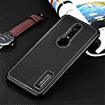 Huawei Mate RS(Porsche Design) Case,DAYJOY Luxury Premium Aluminum Metal Shockproof Bumper Frame Case +Real Genuine Cow Leather Back Cover With invisible Kickstand for Huawei Mate RS