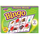 Picture Words Bingo Game