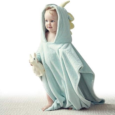 Bebamour Bebé Toalla de baño Material de algodón suave Albornoz ...