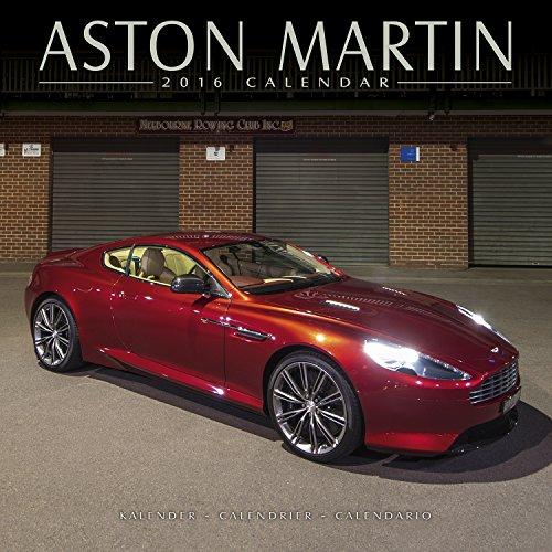 Aston Martin Calendar - 2016 Wall Calendars - Car Calendars - James Bond  -  Monthly Wall Calendar by Avonside