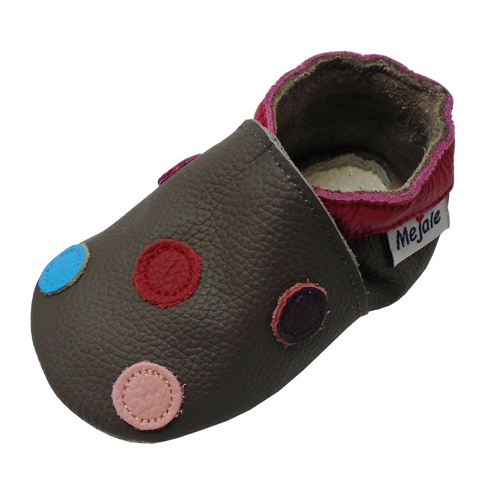Mejale schlüpfen Chaussons en cuir doux chaussures bébé Mokassin chausseres premiers pas