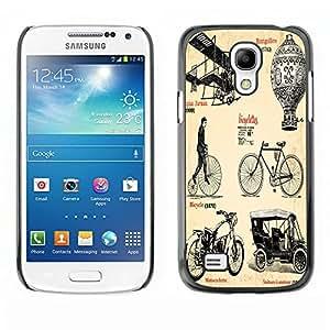 Dragon Case - FOR Samsung Galaxy S4 Mini i9190 - Very creative bike - Caja protectora de pl??stico duro de la cubierta Dise?¡Ào Slim Fit
